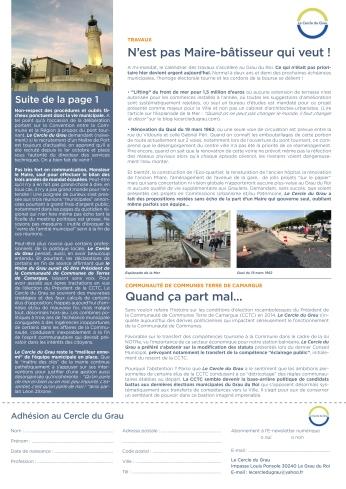 Newsletter Novembre 20172