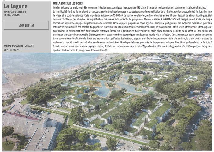 Projet initial - Hôtel Résidence de Camargue
